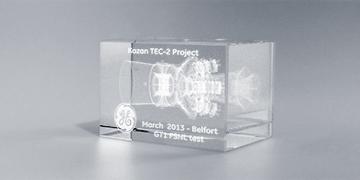 Presse-papiers-verre- marquage-laser-2D-3D-aldebaran
