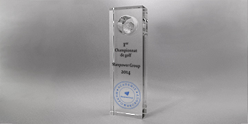 trophee rectangle-golf-impression numérique-marquage