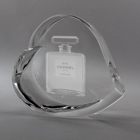 Trophee 3d-iota-verre optique-coeur