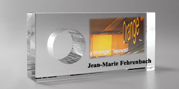trophée rectangle-impression numérique