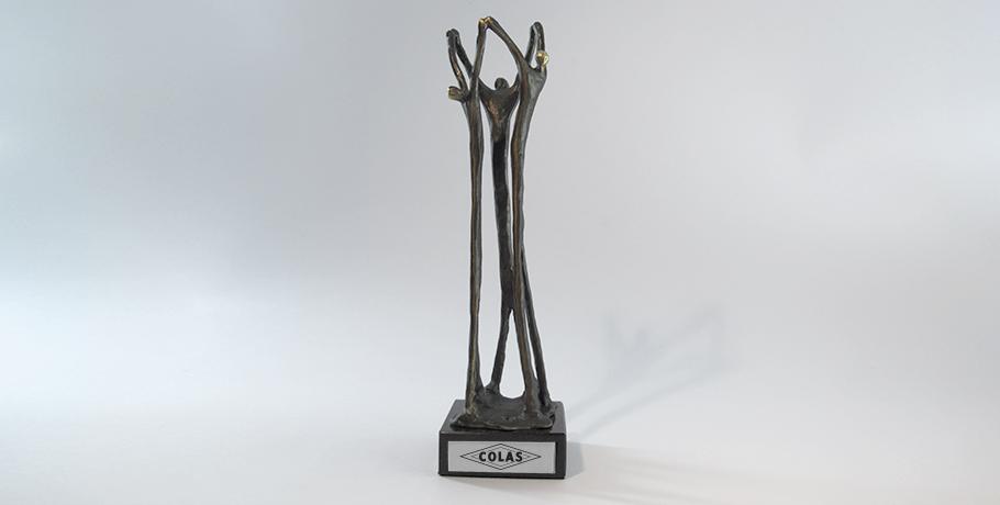 trophée métal-impression numérique-étiquette-gravure-artisan français