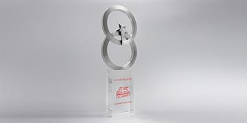 Trophée-verre-métallique-Selenian-marquagecouleur-laser-vignette