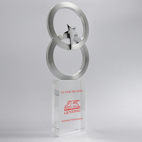 Trophée-verre-métallique-Selenian-marquagecouleur-laser-popup